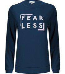 buzo mujer fear less