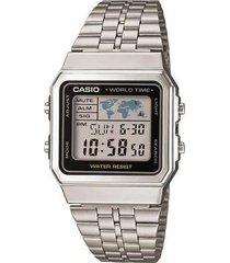 reloj digital casio a-500wa-1d plata