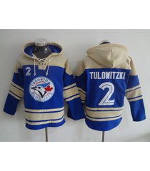 toronto blue jays 2 troy tulowitzki baseball pullover hoodie jersey
