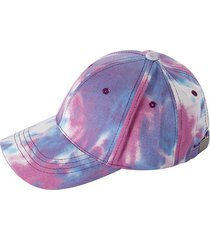 tie dye gradient cotton baseball cap