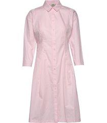 organic pop dumalla jurk knielengte roze mads nørgaard