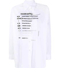 mm6 maison margiela shirt with print