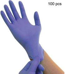 cómoda goma mecánico desechable guantes de nitrilo guantes de examen médico