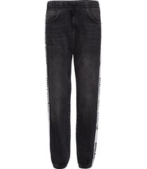 track pant - grey aged raka jeans grå t by alexander wang