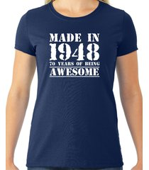 made in 1948, 70 years of being awesome tee