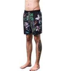 swim shorts floresta salt35g preto