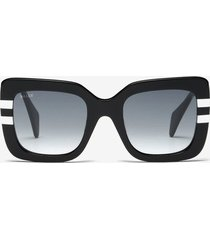 rodeo square frame sunglasses black 1
