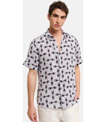 peninsula swimwear shirt linosa linen