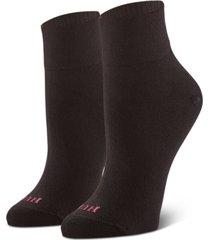 hue women's 3-pk. body ankle socks