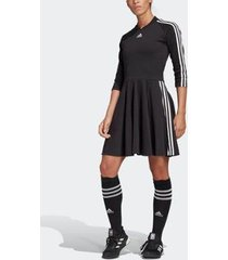 vestido adidas 3-stripes feminino - feminino
