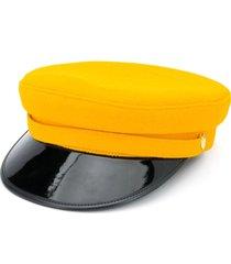 manokhi x toukitsou greek fisherman hat - yellow