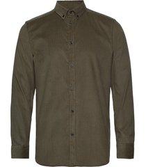 akkonrad corduroy shirt skjorta casual grön anerkjendt