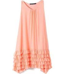 vestido coral mapamondo  farol