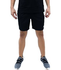 pantaloneta negro adidas run it 3stripes pb