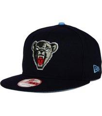 new era maine black bears core 9fifty snapback cap