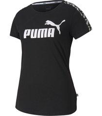 camiseta amplified tee w puma mujer 581218 01 negro