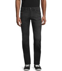 diesel men's safado regular-fit slim-straight jeans - black - size 40
