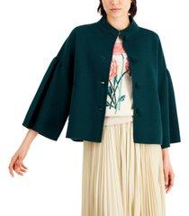 weekend max mara flared-sleeve stand-collar jacket