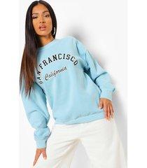 petite overdye california sweater, mint