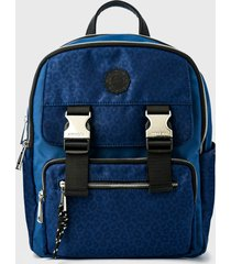 mochila college azul trinus amphora