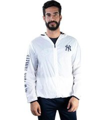 jaqueta windbreaker mlb new york yankees ed wave new era masculino