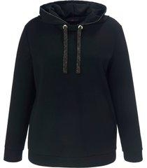 hoodie lange mouwen van emilia lay zwart