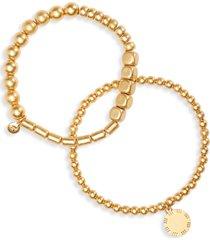 women's madewell 2-pack beaded bracelets