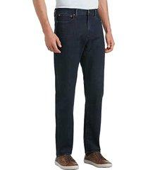 lucky brand men's 121 dark wash slim fit jeans - size: 32w x 34l