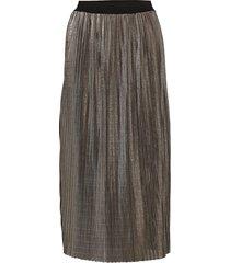 amelia skirt knälång kjol silver becksöndergaard