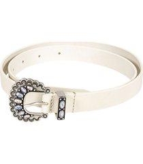 isabel marant embellished buckle belt