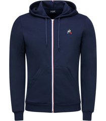 sweater le coq sportif essentiels full zip hoody