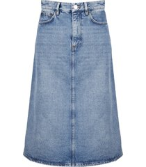 balenciaga a-line skirt