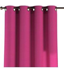 zasłona na kółkach różowy 130x260cm