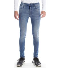 pantalón azul gabucci urban basico hilo