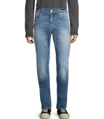 geno no-flap relaxed slim jeans