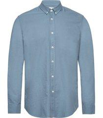 liam bx shirt 11389 overhemd casual blauw samsøe samsøe