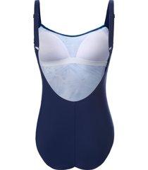 badpak gedessineerde inzet voor van naturana blauw