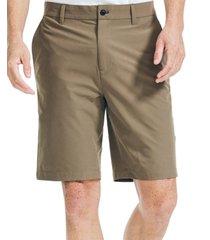 "nautica men's navtech slim-fit 9.5"" shorts"