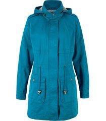parka di cotone foderato in jersey (blu) - bpc bonprix collection