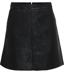 kjol onllisa faux leather skirt cc otw