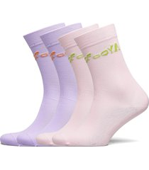 leira, 1207 rib socks lingerie socks regular socks rosa stine goya