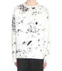 oamc splatter sweatshirt