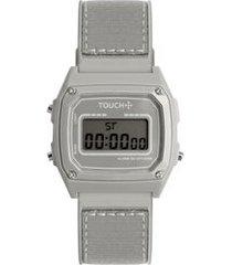 relógio touch unissex prata twjh02bu/8c twjh02bu/8c