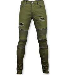 skinny jeans true rise e biker skinny jeans - broek- 3017-9