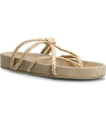 argel shoes summer shoes flat sandals beige mango