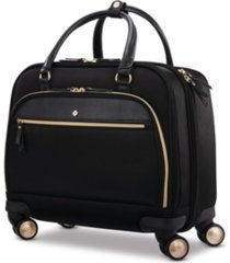 samsonite mobile solution mobile office softside carry-on spinner