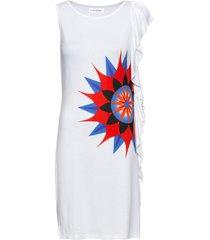 abito di jersey con stampa (bianco) - bodyflirt