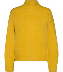 crillakb pullover gebreide trui geel karen by simonsen