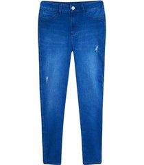 jean mujer skinny color azul, talla 10