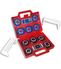 maleta p/ futebol de botão klopf oficial